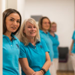 Der Team-Spirit des eingespielten Praxis-Teams der Augenarztpraxis Daniela Michaelis in Radolfzell wird davon getragen, bestens zu harmonieren für das Patientenwohl.