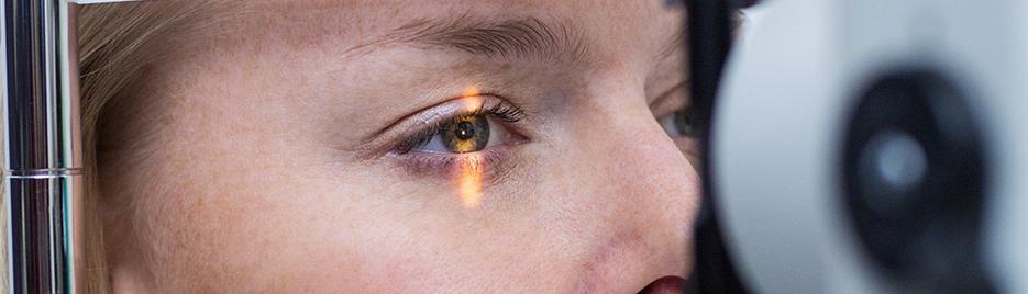 Glaukom, Grüner Star: Vorsorge Augenarzt, Praxis Daniela Michaelis Radolfzell. Augeninnendruckmessung, Augenspiegelung, Hornhautdickenmessung, OCT, HRT.